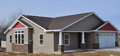 A house built by Yoder Construction, LLC.